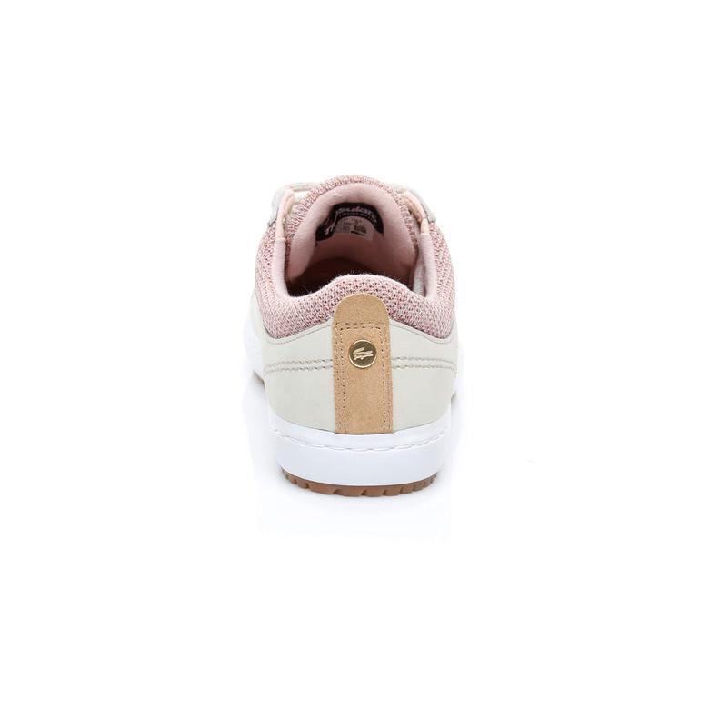 Lacoste Straightset İnsulate 3181 Kadın Pembe Sneaker