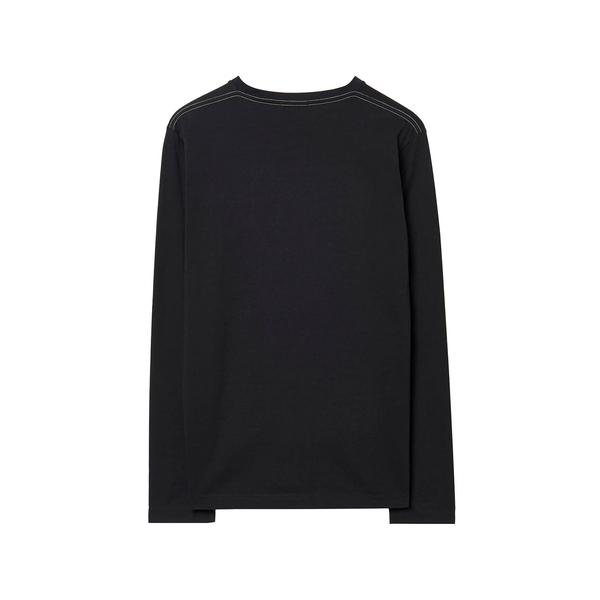 GANT Erkek Siyah Uzun Kollu T-Shirt