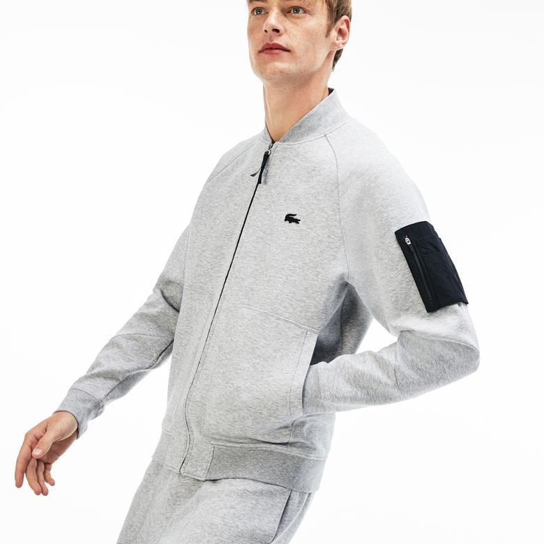 Lacoste Motion Erkek Gri Sweatshirt