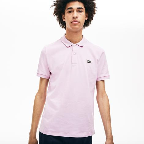 Lacoste L!ve Erkek Slim Fit Mor Polo