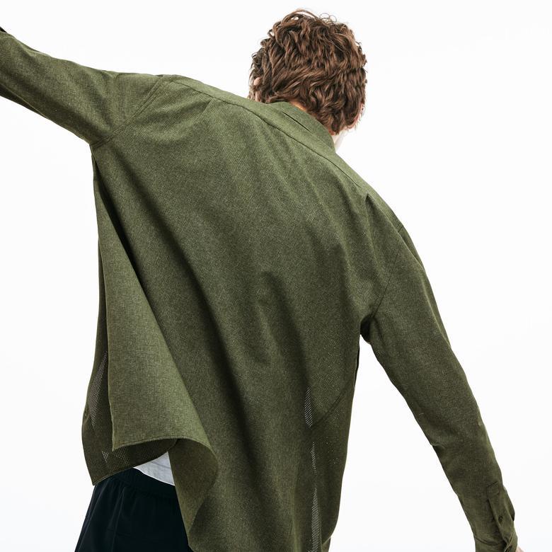 Lacoste Motion Erkek Regular Fit Haki Gömlek