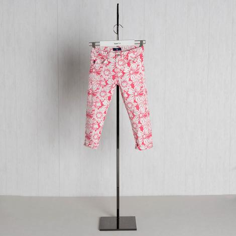 Gant Çocuk Pembe Çiçekli Pantolon