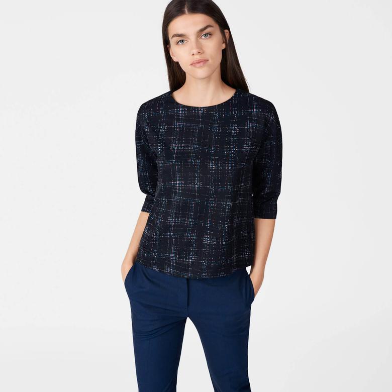 Gant Kadın Siyah Bluz