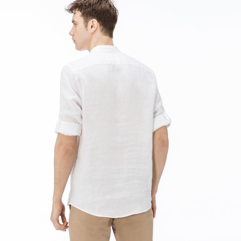 Lacoste Erkek Regular Fit Bej Gömlek