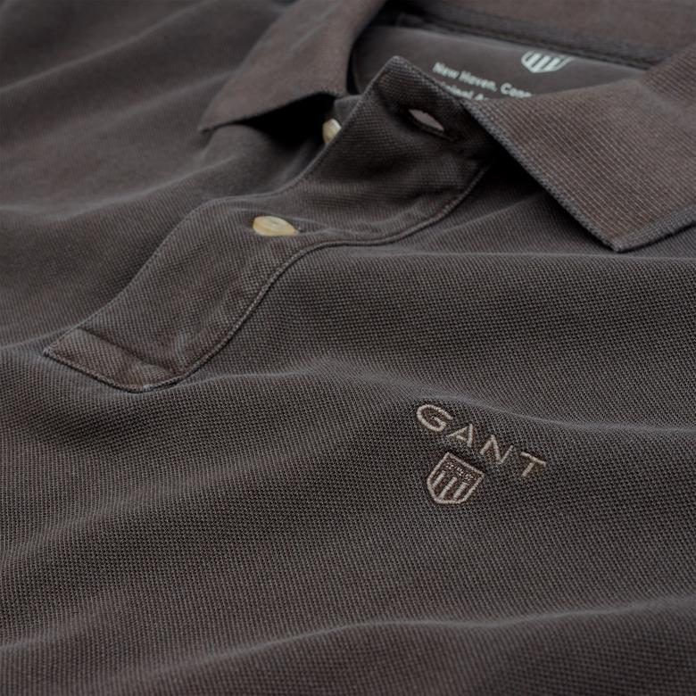 Gant Erkek Vintage Yıkamalı Kahverengi Regular Pike Polo