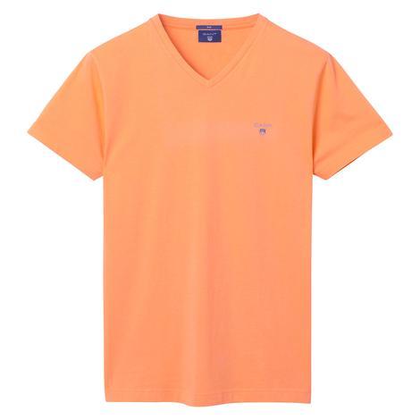 Gant Erkek Turuncu Slim Fit Tshirt