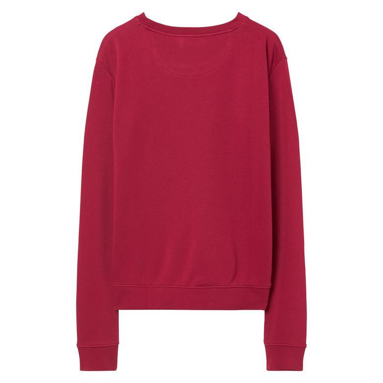 Gant Kadın Bordo Sweatshirt