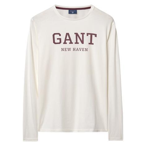 Erkek Beyaz Sweatshirt