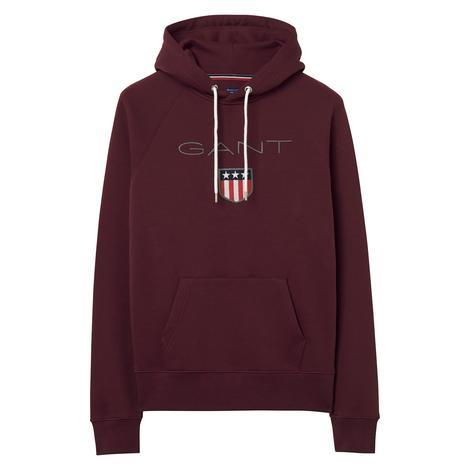 Gant Bordo Erkek Sweatshirt