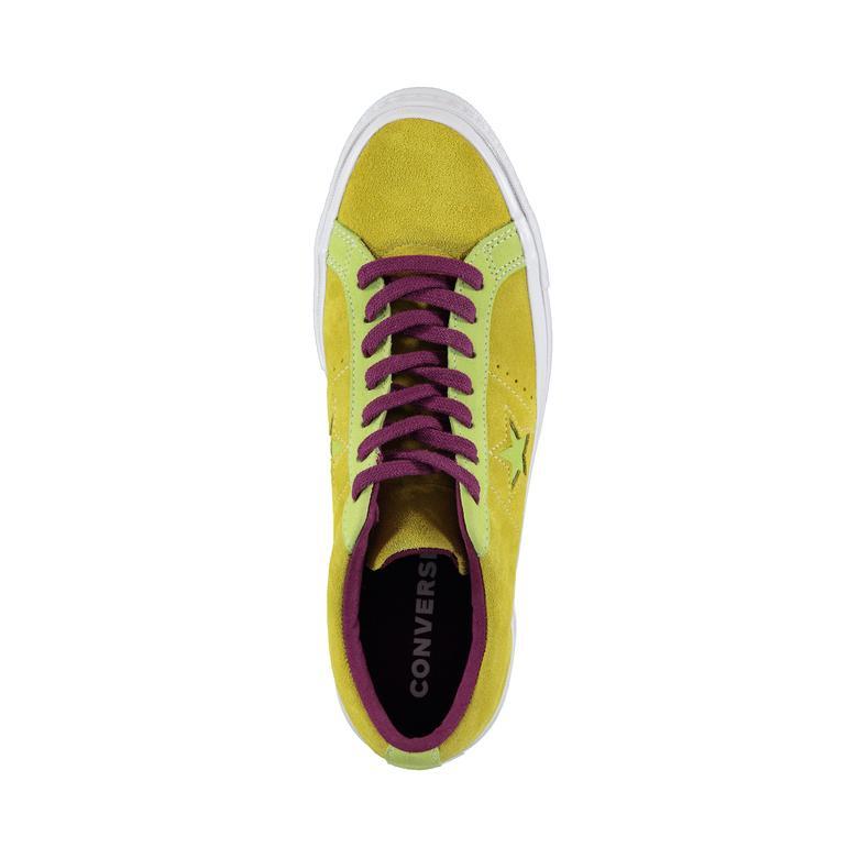 Converse One Star Carnival Erkek Sarı Ayakkabı