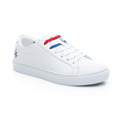 Lacoste Kadın L.12.12 418 1 Disney Caw Beyaz Sneaker