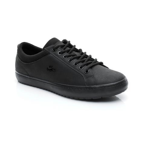 Lacoste Erkek Straightset Insulate 318 1 Siyah Sneaker