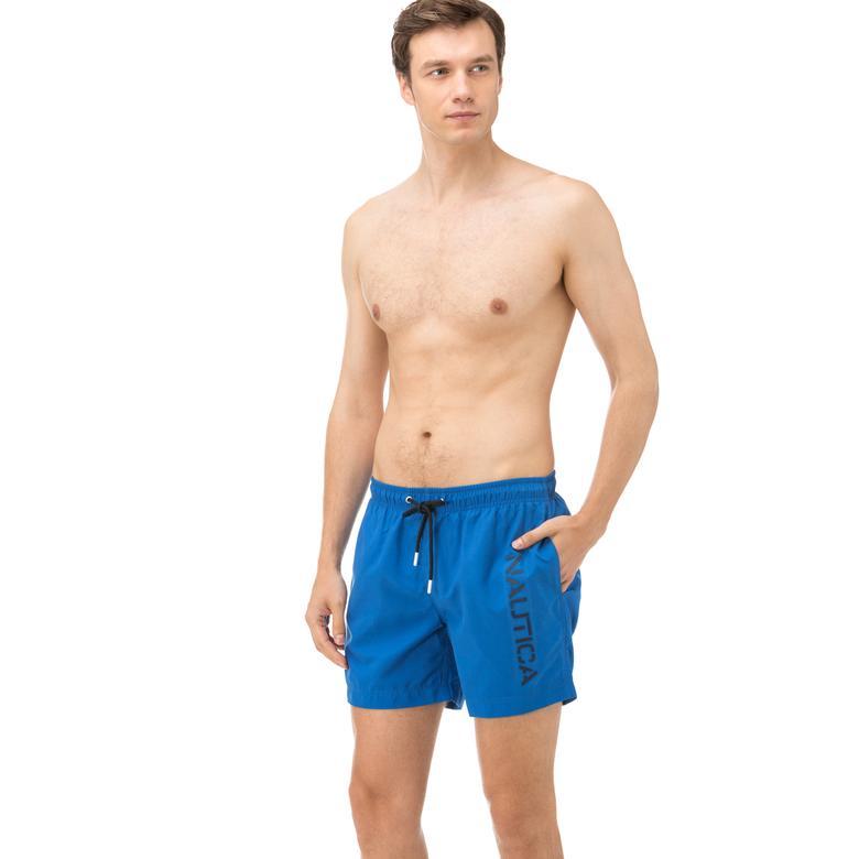 Nautica Erkek Mavi Kısa Mayoşort