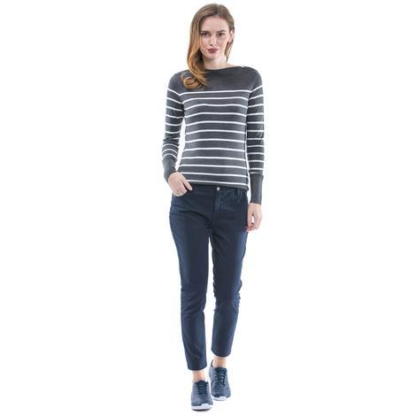 Nautica Kadın Slim Fit Lacivert Pantolon