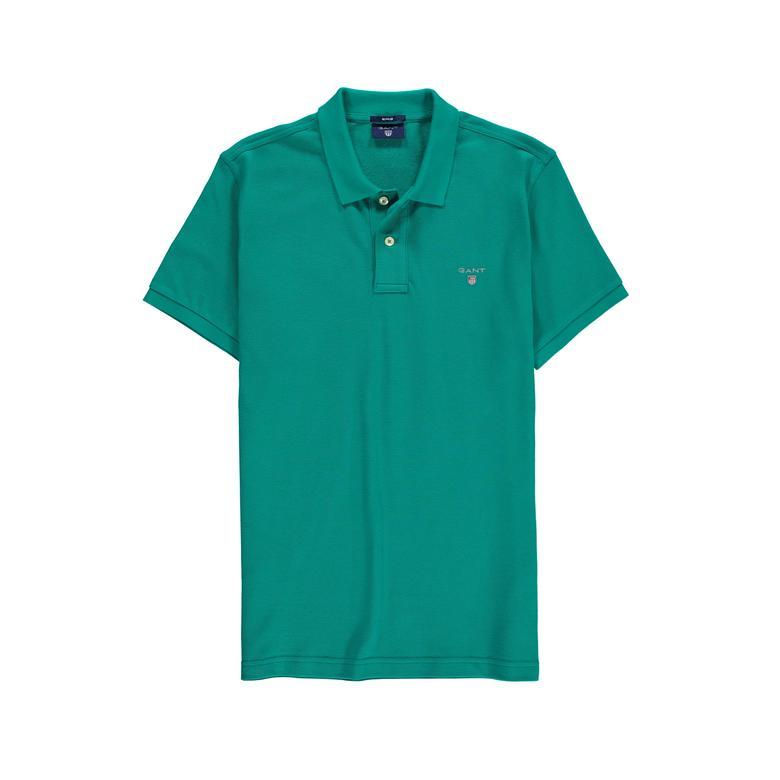Gant Erkek Regular Fit Yeşil Polo