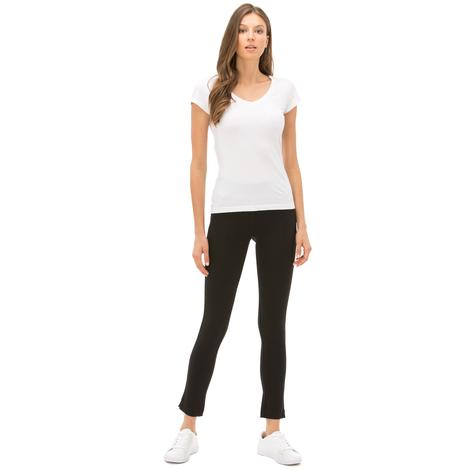 Nautica Kadın Classıc Fıt Siyah Pantolon