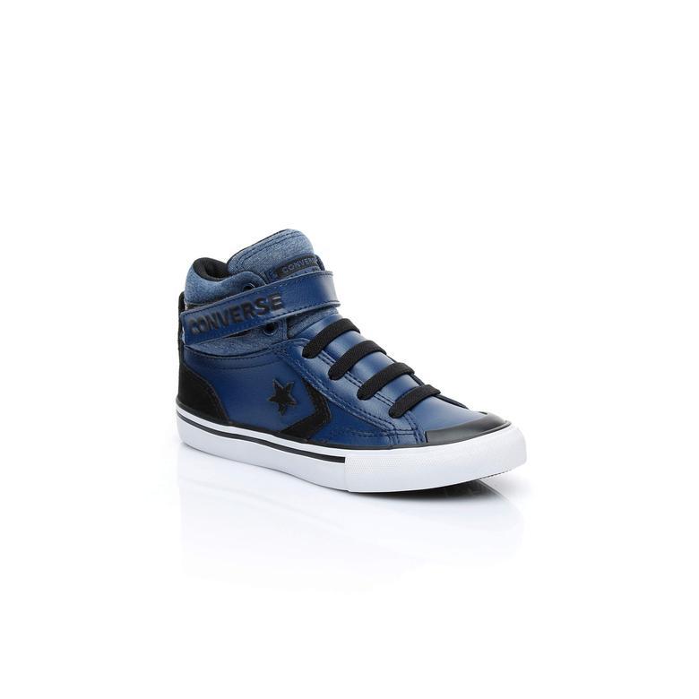 Converse Pro Blaze Strap Çocuk Lacivert Sneaker