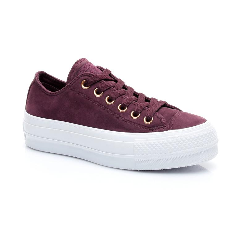 Converse Chuck Taylor All Star Earthy Buck Kadın Bordo Sneaker