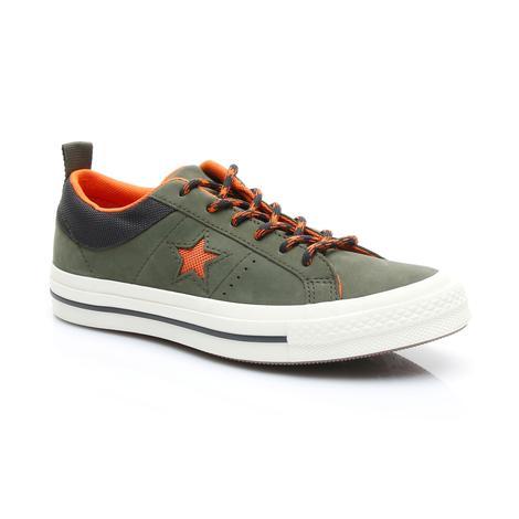 Converse One Star Kadın Yeşil Ayakkabı