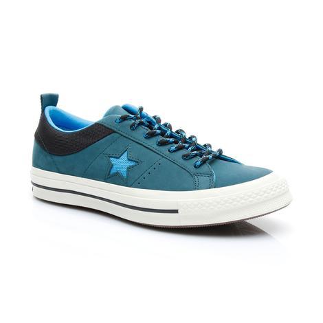 Converse One Star Erkek Mavi Ayakkabı