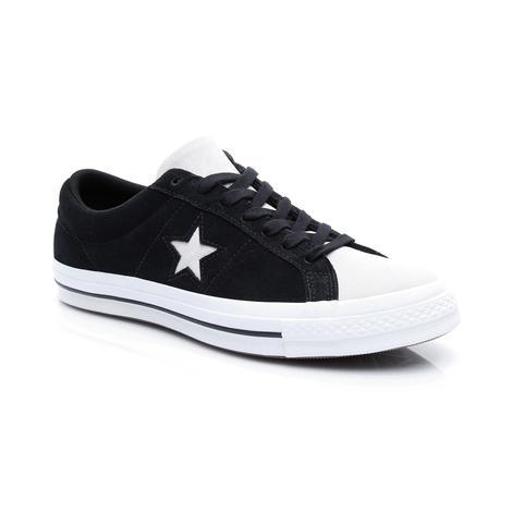 Converse One Star Unisex Siyah Ayakkabı