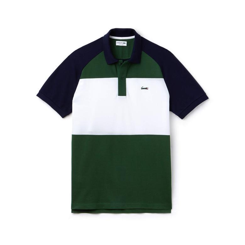 Lacoste Erkek Yeşil Klasik Fit Polo