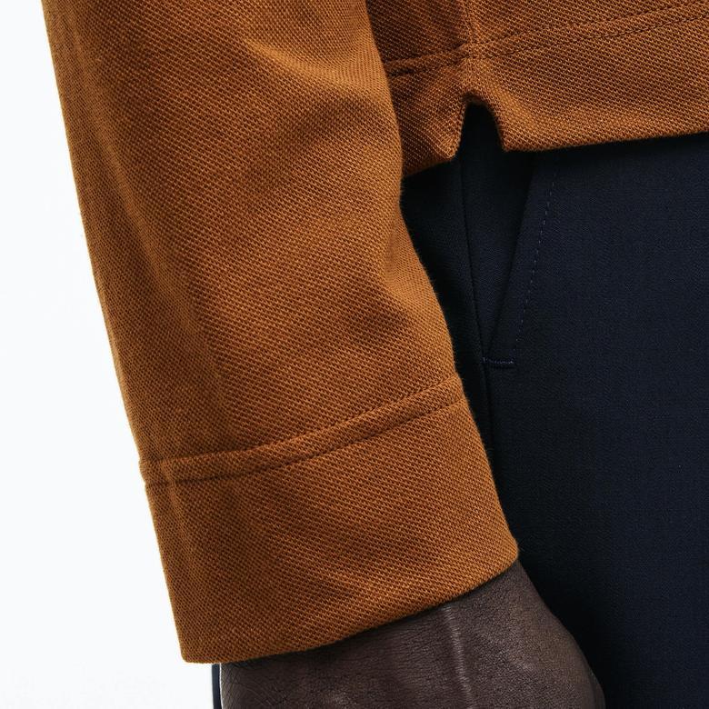 Lacoste Erkek Kahverengi Regular Fit Polo