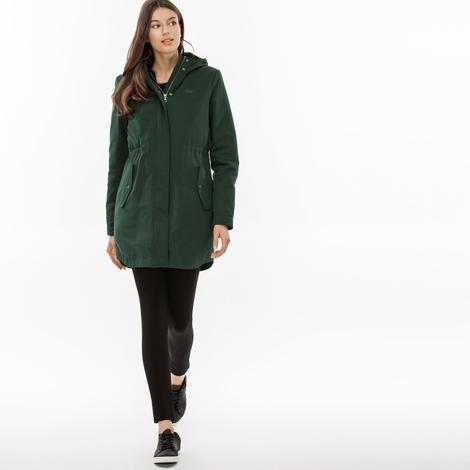 Lacoste Kadın Yeşil Mont