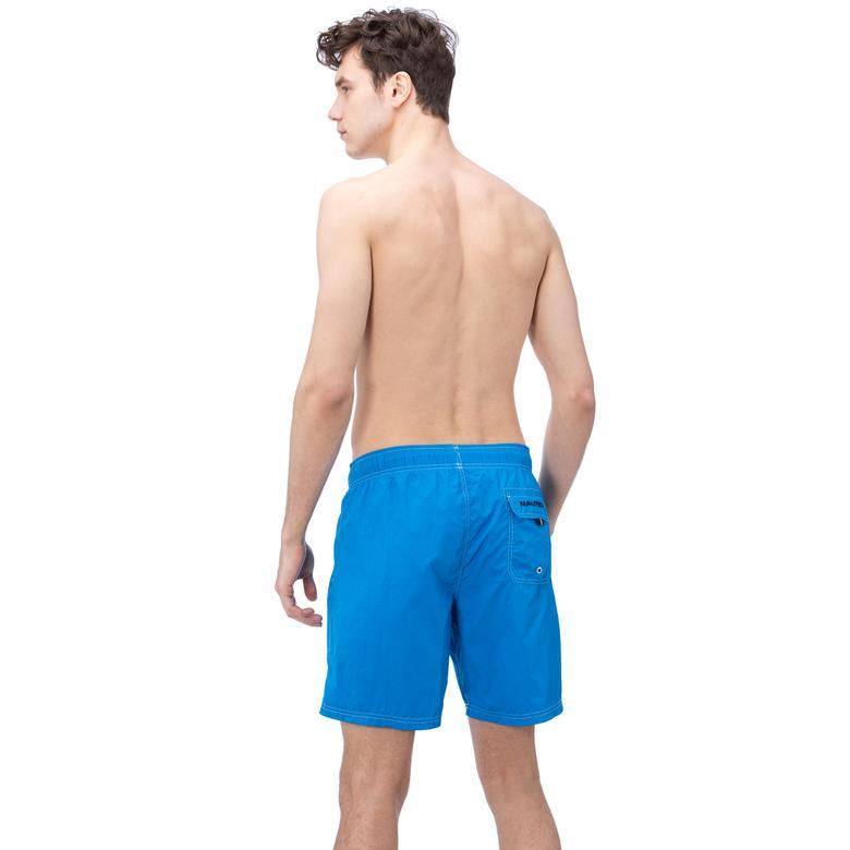 Nautica Erkek Mavi Uzun Mayoşort