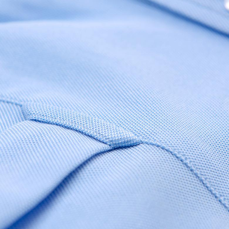 Gant Erkek Açık Mavi Regular Fit Tech Prep? Piqué Gömlek