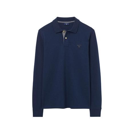 Gant Regular Fit Erkek Lacivert Uzun Kollu  Polo