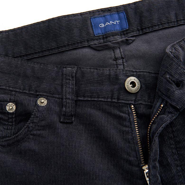 Gant Erkek Siyah Slim Fit Pantolon