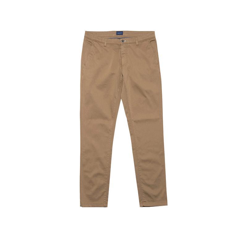 Gant Erkek Bej Slim Chino Pantolon