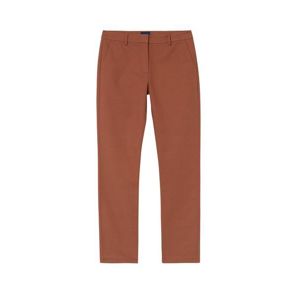 Gant Kadın Kahverengi Slim Fit Pantolon