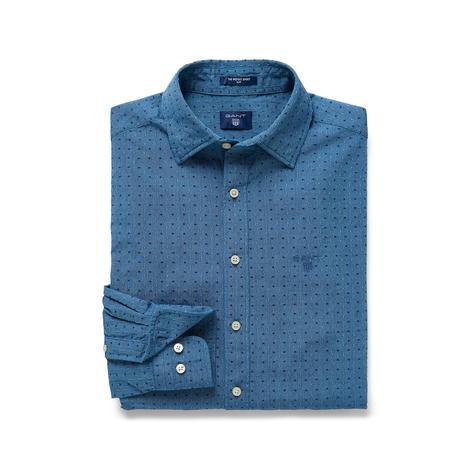 Gant Slim Fit Erkek Mavi Gömlek