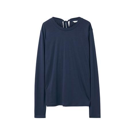 Gant Kadın Lacivert Back Not Ls Top Bluz
