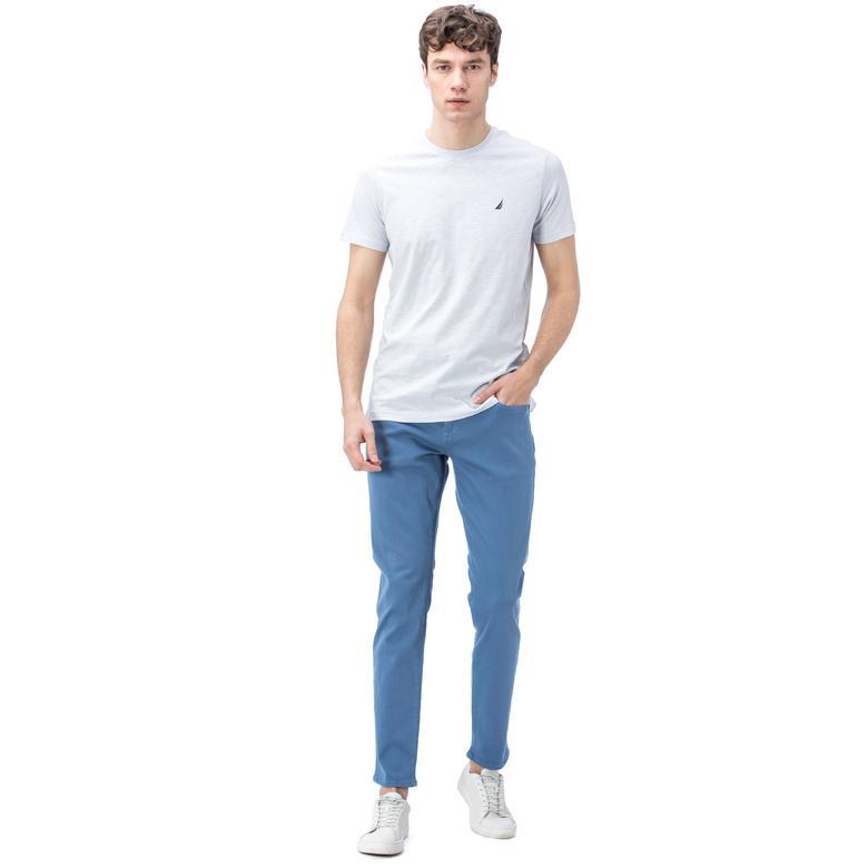 Nautica Erkek Mavi Slim Fit Pantolon