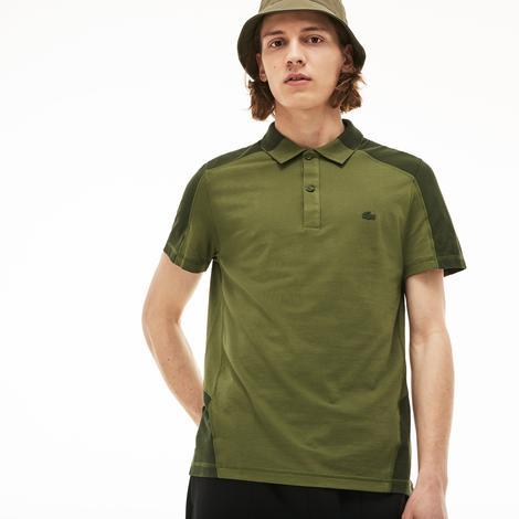 Lacoste Motion Erkek Rahat Kesim Yeşil Polo