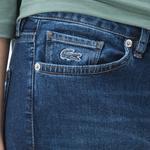 Lacoste Kadın Denim Mavi Pantolon