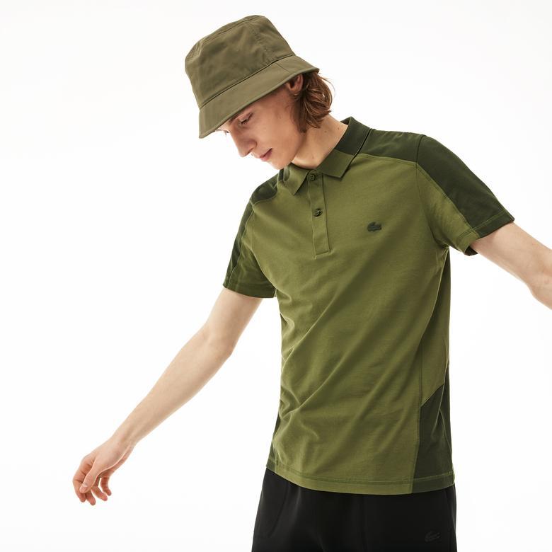 Lacoste Motion Erkek Relax Fit Yeşil Kısa Kollu Polo