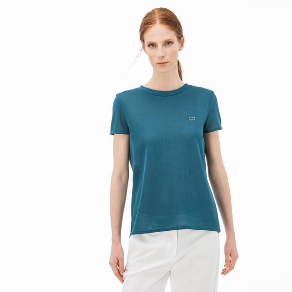 Lacoste Kadın Yeşil T-Shirt