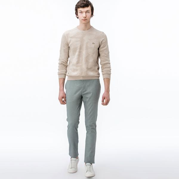 Lacoste Erkek Slim Fit Soluk Yeşil Chino Pantolon
