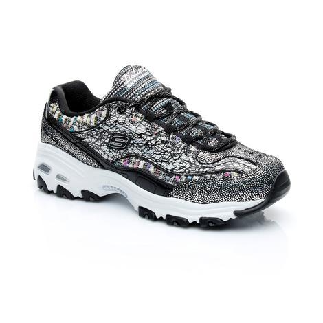 Skechers D'Lites - Glitz Galz Kadın Gri Spor Ayakkabı