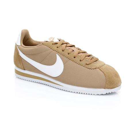 Nike Classic Cortez Nylon Erkek Bej Sneaker