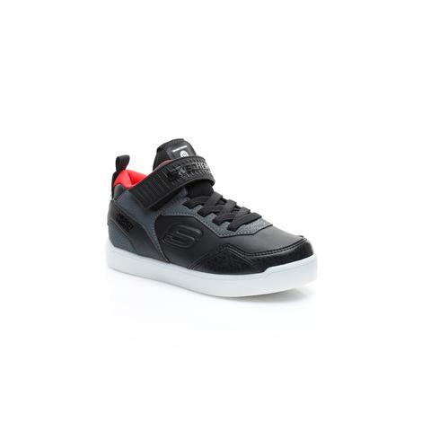 Skechers Energy Lights Erkek Çocuk Siyah Işıklı Ayakkabı