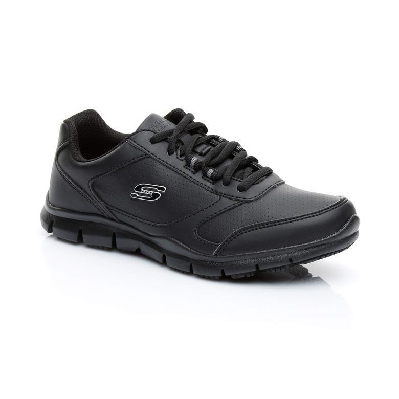 Skechers Nobrac Kadın Siyah Spor Ayakkabı