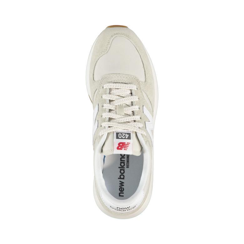 New Balance 420 Kadın Bej Sneaker