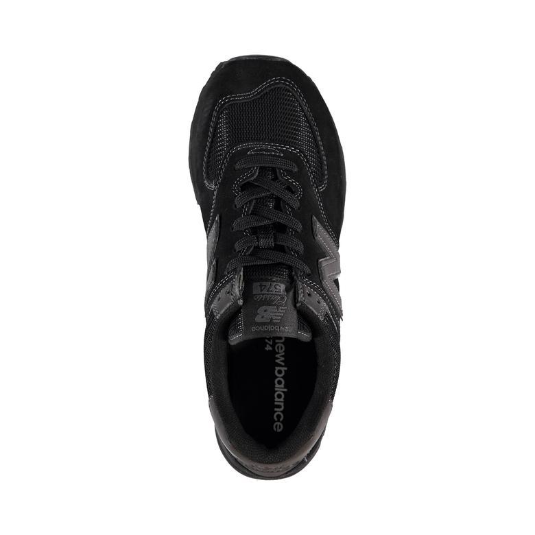 New Balance 574 Unisex Siyah Spor Ayakkabı