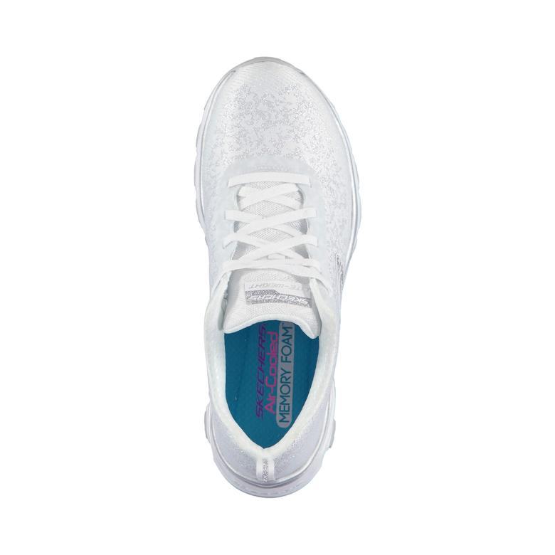 Skechers D'Lights Air Kadın Beyaz Spor Ayakkabı