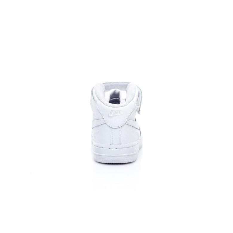 Nike Air Force 1 Mid Çocuk Beyaz Sneaker